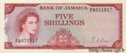 5 Shillings JAMAÏQUE  1967 P.51Ad SPL
