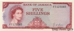 5 Shillings JAMAÏQUE  1967 P.51Ad NEUF