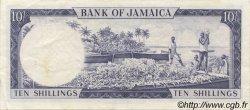 10 Shillings JAMAÏQUE  1964 P.51Bc TTB+