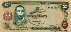 2 Dollars JAMAÏQUE  1970 P.55 pr.NEUF