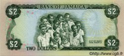 2 Dollars JAMAÏQUE  1976 P.60a NEUF