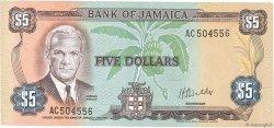 5 Dollars JAMAÏQUE  1976 P.61b NEUF