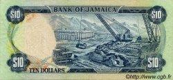 10 Dollars JAMAÏQUE  1976 P.62 TTB+