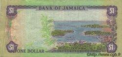 1 Dollar JAMAÏQUE  1987 P.68Ab TB+