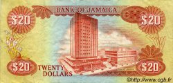 20 Dollars JAMAÏQUE  1981 P.68b TTB