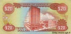 20 Dollars JAMAÏQUE  1981 P.68b SUP+