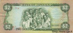 2 Dollars JAMAÏQUE  1985 P.69a TTB+