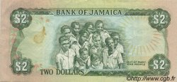 2 Dollars JAMAÏQUE  1987 P.69b TTB