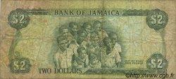 2 Dollars JAMAÏQUE  1993 P.69e pr.TB