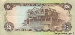 5 Dollars JAMAÏQUE  1989 P.70c TTB à SUP