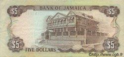 5 Dollars JAMAÏQUE  1992 P.70d TTB+