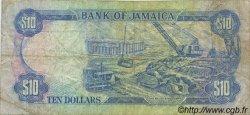10 Dollars JAMAÏQUE  1989 P.71c TB