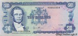 10 Dollars JAMAÏQUE  1994 P.71e SUP+