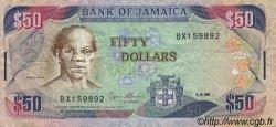 50 Dollars JAMAÏQUE  1995 P.73c TTB