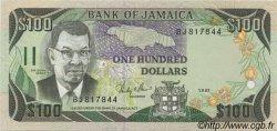 100 Dollars JAMAÏQUE  1987 P.74 pr.NEUF