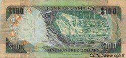 100 Dollars JAMAÏQUE  1992 P.75b TB+