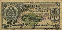 50 Centavos NICARAGUA  1894 P.019c TB+