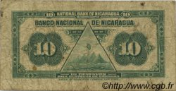 10 Centavos NICARAGUA  1918 P.052c TB