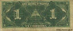 1 Cordoba NICARAGUA  1914 P.055a B+