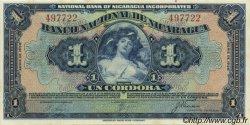 1 Cordoba NICARAGUA  1938 P.063b pr.NEUF