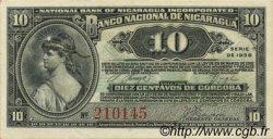 10 Centavos NICARAGUA  1938 P.087a pr.NEUF