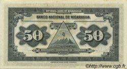 50 Centavos NICARAGUA  1938 P.089a SPL+