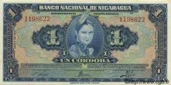 1 Cordoba NICARAGUA  1941 P.090a NEUF