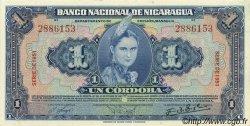 1 Cordoba NICARAGUA  1951 P.091b pr.NEUF