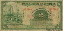2 Cordobas NICARAGUA  1945 P.092b B+