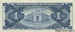 1 Cordoba NICARAGUA  1953 P.099a SUP+