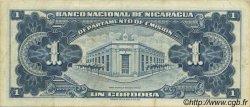 1 Cordoba NICARAGUA  1959 P.099c TTB+