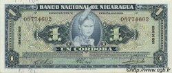 1 Cordoba NICARAGUA  1959 P.099c SPL