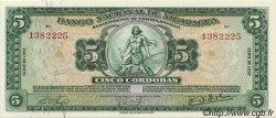 5 Cordobas NICARAGUA  1957 P.100b NEUF