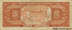 20 Cordobas NICARAGUA  1960 P.102b pr.TTB