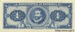 1 Cordoba NICARAGUA  1962 P.107 SUP