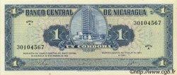 1 Cordoba NICARAGUA  1962 P.107 NEUF