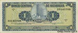 1 Cordoba NICARAGUA  1968 P.115 SPL