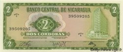 2 Cordobas NICARAGUA  1972 P.121 SPL