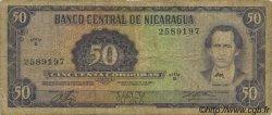 50 Cordobas NICARAGUA  1978 P.130 B+