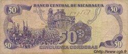 50 Cordobas NICARAGUA  1979 P.136 pr.TTB