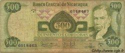 500 Cordobas NICARAGUA  1979 P.138 TB