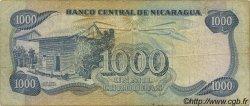 1000 Cordobas NICARAGUA  1979 P.139 TB