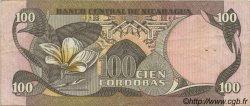 100 Cordobas NICARAGUA  1984 P.141 TTB