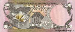 100 Cordobas NICARAGUA  1984 P.141 pr.NEUF