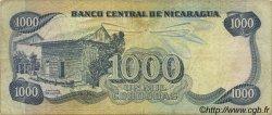 1000 Cordobas NICARAGUA  1984 P.143 TB+