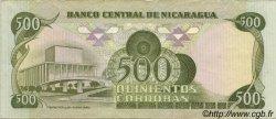 500 Cordobas NICARAGUA  1985 P.144 SUP+