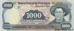 1000 Cordobas NICARAGUA  1985 P.145a NEUF