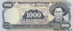 1000 Cordobas NICARAGUA  1985 P.145b NEUF