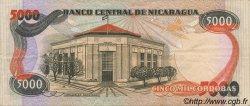 5000 Cordobas NICARAGUA  1985 P.146 SUP