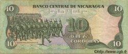10 Cordobas NICARAGUA  1988 P.151 TTB